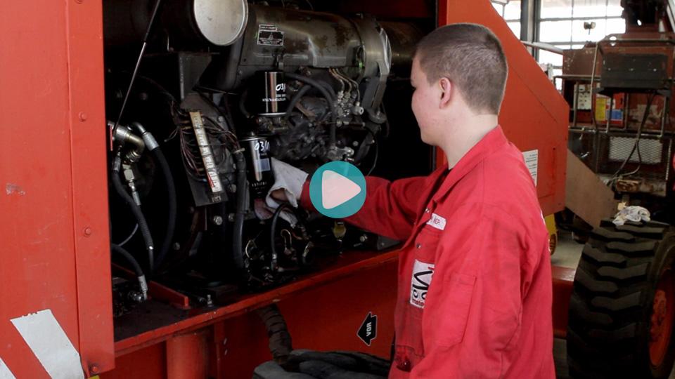Video Ausbildung Land- und Baumaschinenmechatroniker Mateco Niederlassung Hamburg
