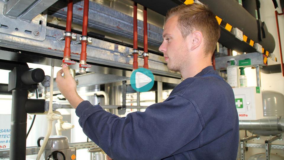 Video Ausbildung Anlagenmechaniker für Sanitär-, Heizungs- und Klimatechnik Lengemann & Eggers GmbH & CO. KG Hamburg