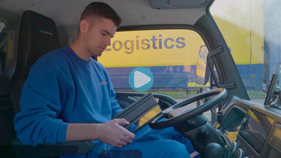 Ausbildung, Lehre, Berufskraftfahrer, Berufskraftfahrerin, LKW-Fahrer