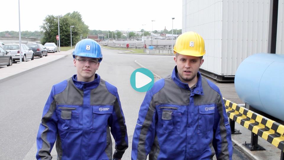Video Ausbildung Fachkraft für Abwassertechnik HAMBURGER WASSERWERKE GMBH