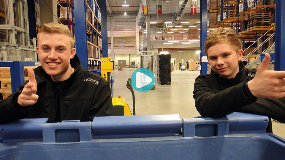 Video Ausbildung Fachkraft für Lagerlogistik Montblanc Deutschland GmbH