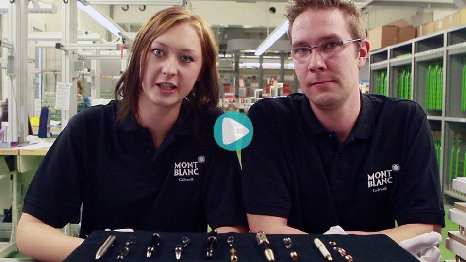 Video Ausbildung Oberflaechenbeschichter Montblanc Deutschland GmbH
