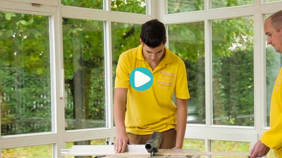 Video Ausbildung Parkettleger