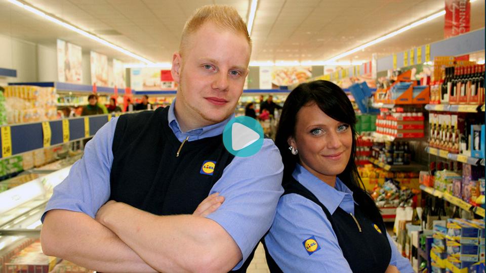 Video Ausbildung Kaufmann / Kauffrau / Kaufleute Einzelhandel Lidl