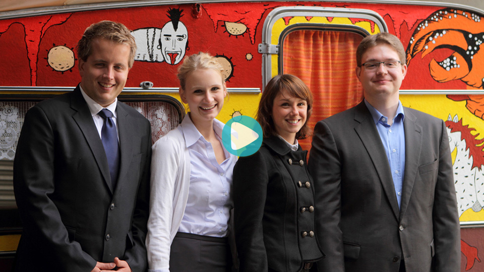 Video Ausbildung Nationales Traineeprogramm HypoVereinsbank UniCredit Bank AG München