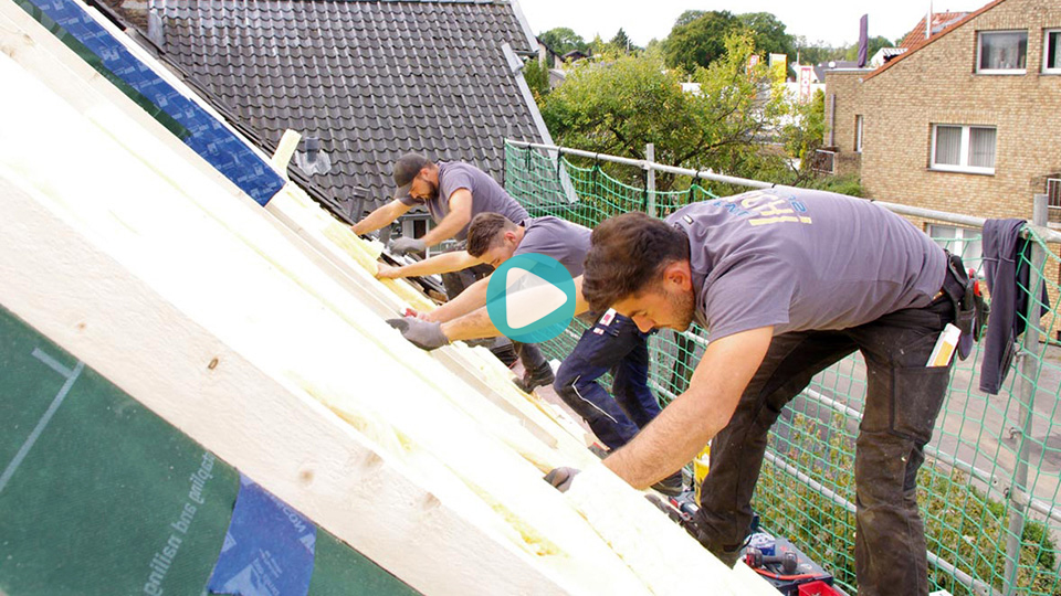 Video Ausbildung Dachdecker Dachdeckerbetrieb KAULARTZ