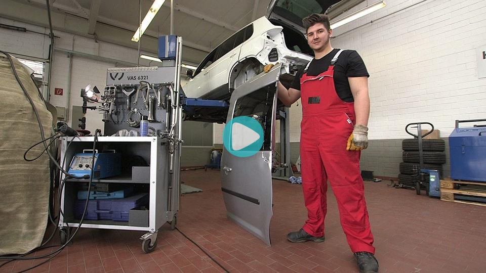 Video Ausbildung Kraftfahrzeugmechatroniker SP Karosserietechnik