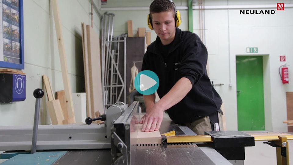 Video Ausbildung Tischler Neuland Wolfburg