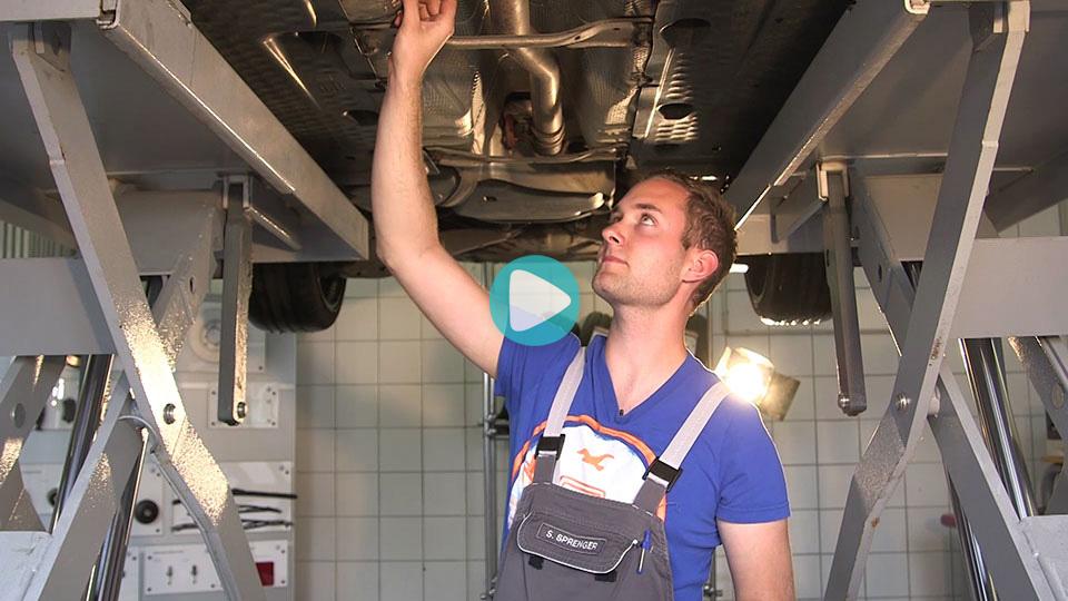 Video Ausbildung Kfz-Mechatroniker PKW