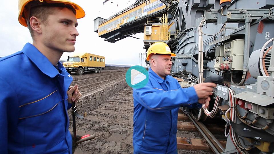 Video Ausbildung Industriemechaniker Lausitz Energie Bergbau AG Leag