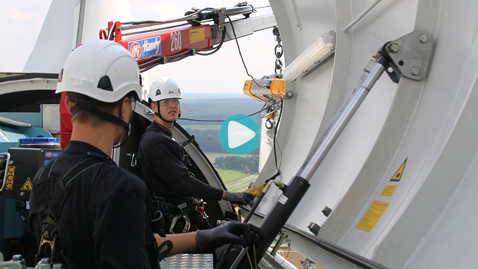 Video Ausbildung Elektroniker für Betriebstechnik Elektronikerin für Betriebstechnik Siemens Wind Power GmbH & Co.KG