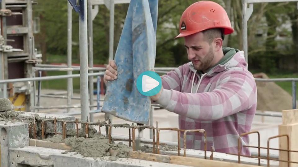 Video Ausbildung Beton-und-Stahlbetonbauer Schütt