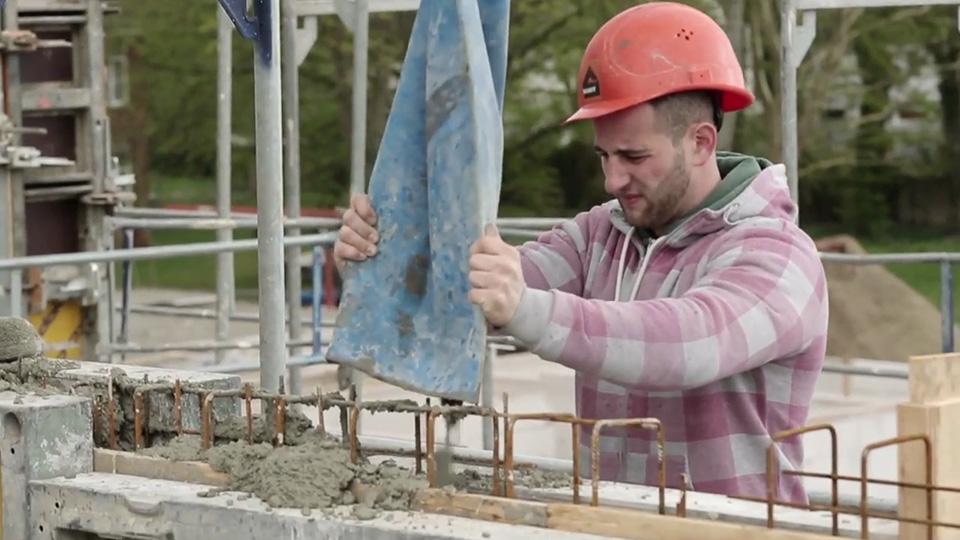 Ausbildung zum Beton- und Stahlbetonbauer