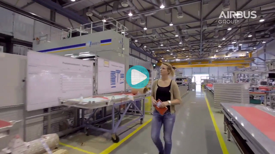 Video Duales Studium Bachelor of Engineering Verbundwerkstoffe/Composites Airbus