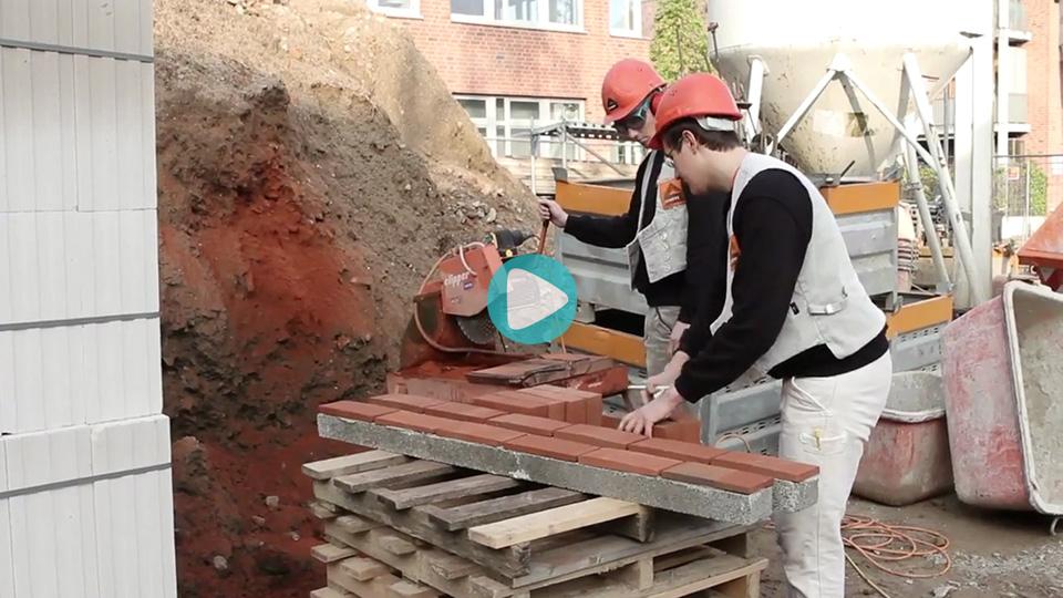 Video Ausbildung Duales Studium Bauingenieurwesen mit integrierter Maurerlehre Schütt Studile