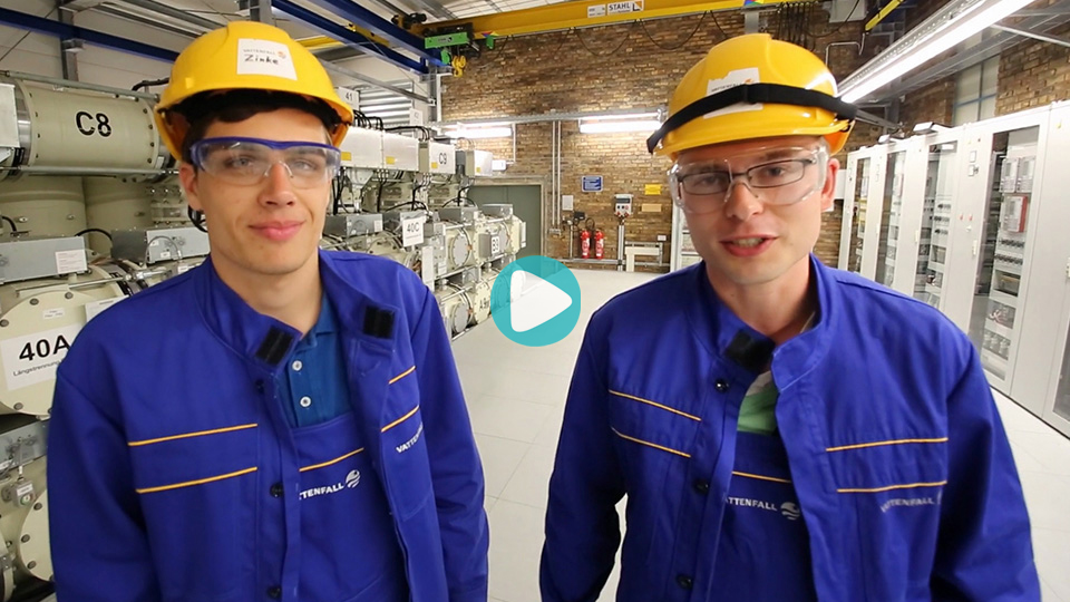 Video Ausbildung Elektroniker für Automatisierungstechnik Elektronikerin für Automatisierungstechnik Vattenfall Berlin