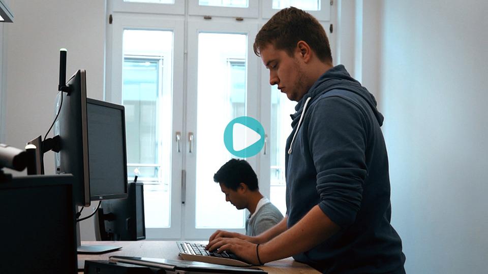 Video Ausbildung Fachinformatiker für Anwendungsentwicklung LichtBlick SE Hamburg