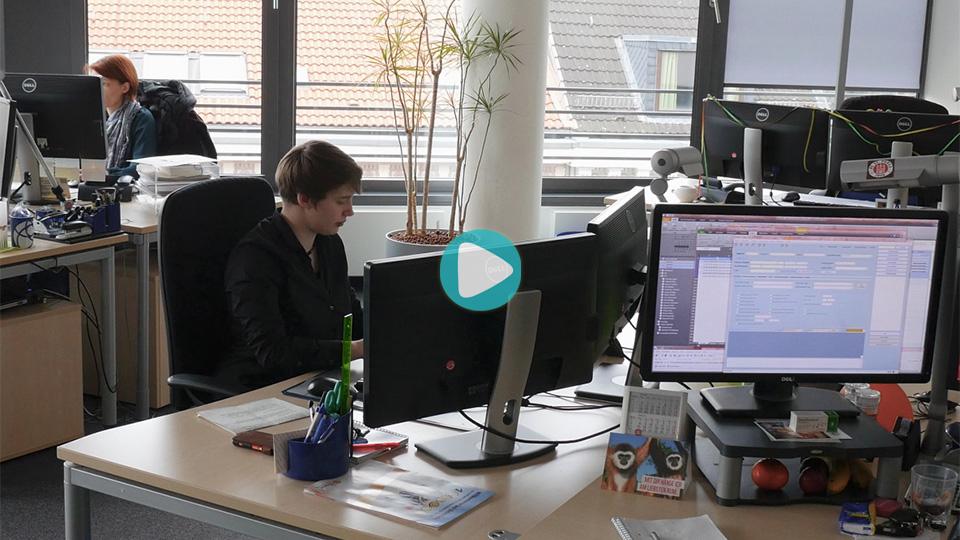 Video Ausbildung Kaufmann / Kauffrau / Kaufleute für Büromanagement LichtBlick SE Hamburg