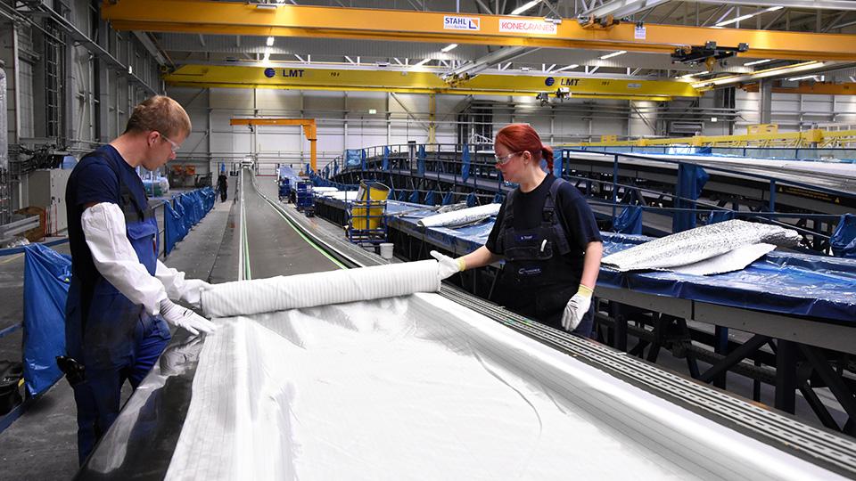 Ausbildung zum Verfahrensmechaniker Kunststoff Kautschuktechnik bei Nordex