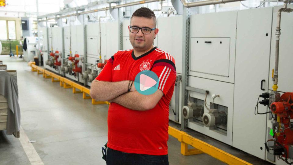 Video Ausbildung Maschinen- und Anlagenführer Textilveredlung