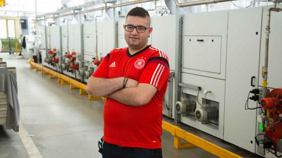 Ausbildung zum Maschinen- und Anlagenführer Textilveredlung