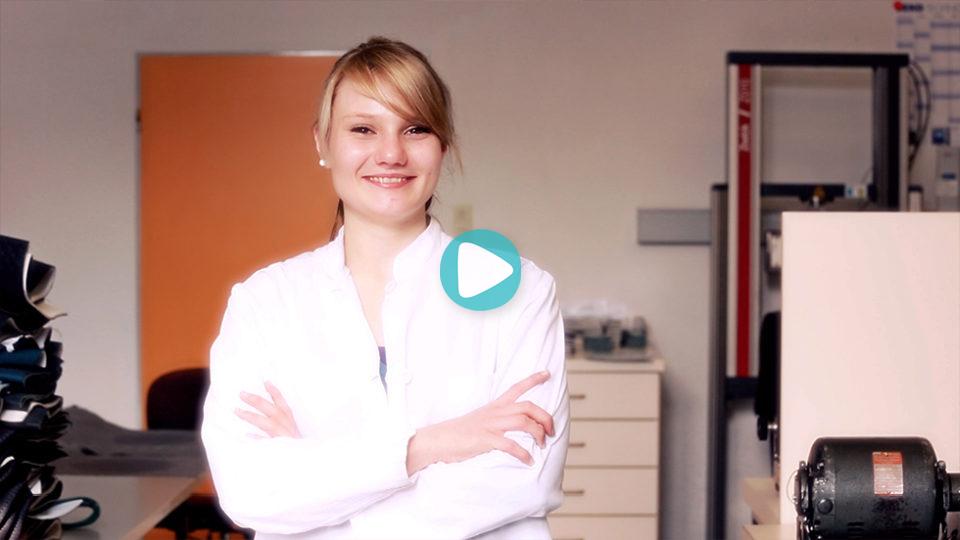 Video Ausbildung Textillaborant