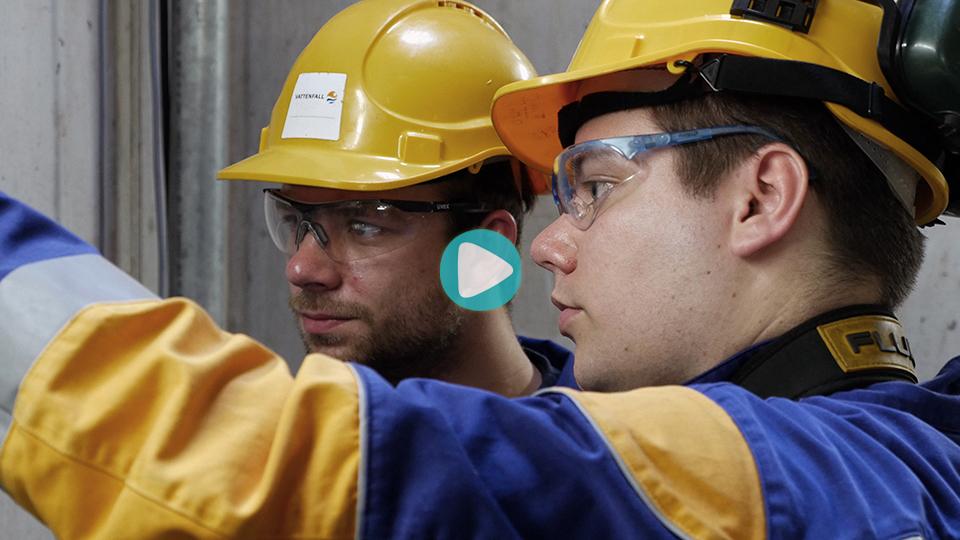 Video Ausbildung Mechatroniker Vattenfall Hamburg