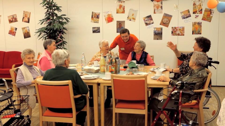 Ausbildung, Lehre Altenpflege, Altenpfleger, Altenpflegerin