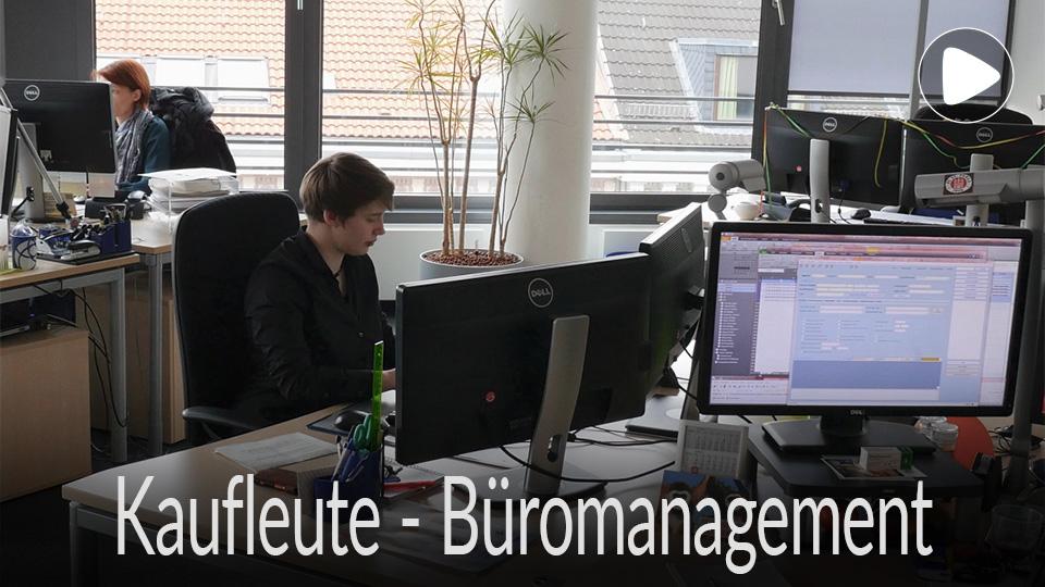 Link zum Ausbildungsberuf Kaufleute Büromanagement