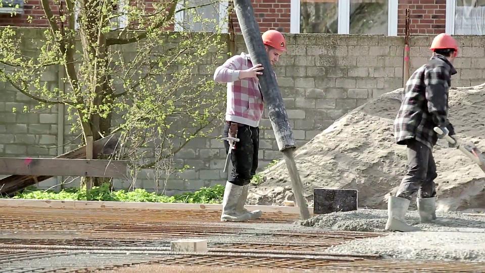 Ausbildung, Lehre, Ausbildungsplatz, Beton- und Stahlbetonbauer, Beton- und Stahlbetonbauerin, Baustelle