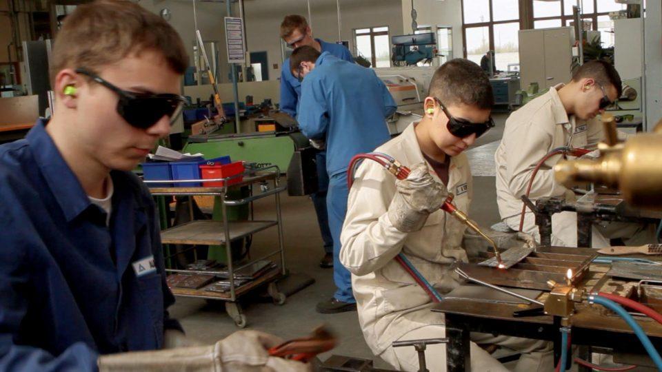 Ausbildung In Der Industrie