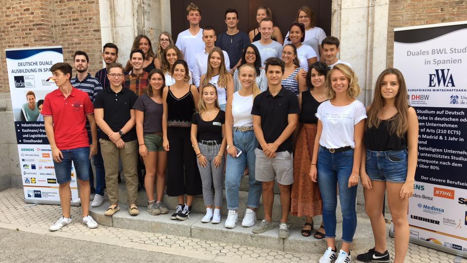 kaufmaennische berufsausbildung in spanien madrid