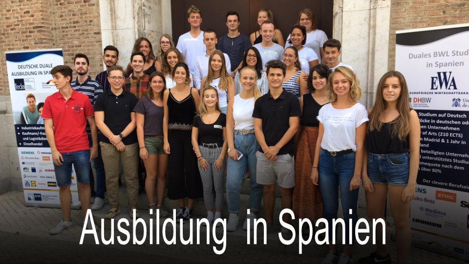 kaufmaennische berufsausbildung in spanien madrid feda